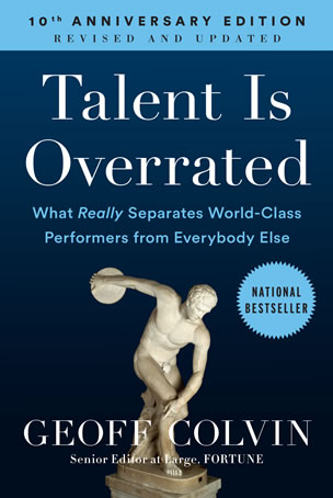 Talent Is Overrated Cover Image